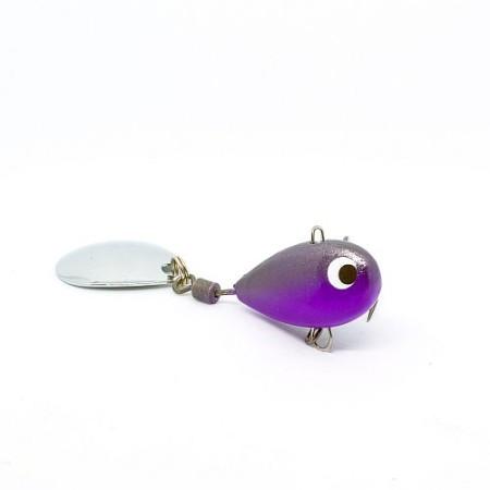 Тейл-спиннер X-tackle Booby XP003-violet/graphite
