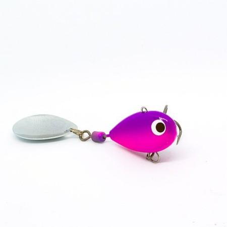 Тейл-спиннер X-tackle Booby XP006-pink/violet