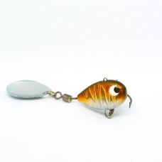 Тейл-спиннер X-tackle Booby XF007-orange tiger