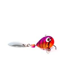 Тейл-спиннер X-tackle Booby XT003-CAT orange/violet